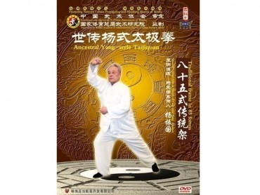 Tai Chi Chuan DVD Ancestral Yang-style Tai Chi Chuan Traditional Frame in 85 Forms 3 DVDs