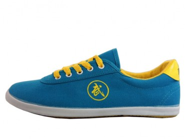 Super Light Canvas Kung Fu Shoes Blue