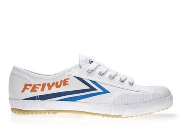 Feiyue Lo Multi Coloured Shoes - White/Blue Shoes