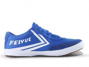 Feiyue A.S Canvas Low Top Sneakers - Blue Shoes