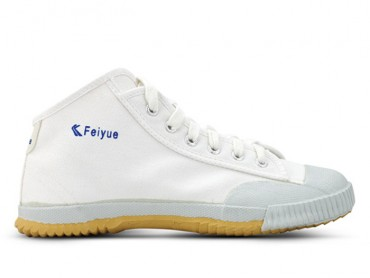 Feiyue High Top White Kung Fu Shoes