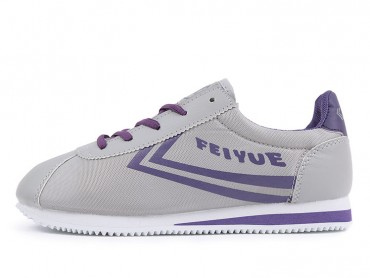 Feiyue Jogging Shoes 2015 New Style Grey Purple