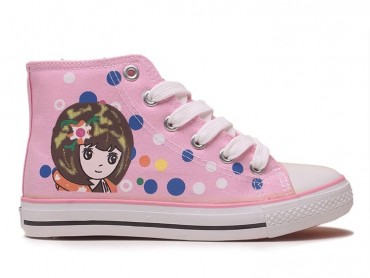 Feiyue Kids Pink Girl