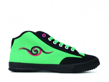 Feiyue Shoes Chinoiserie High Top Green