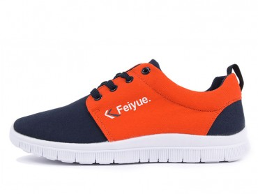 Feiyue Shoes 2015 New Style Super Light Casual Shoes Orange
