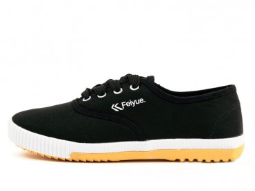 2015 New style Feiyue plain lovers shoes black