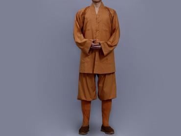 Shaolin Kung Fu Clothing Darcon Ochre