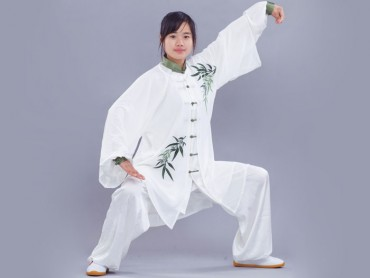 Tai Chi Clothing for woman Traditional Bamboo Pattern