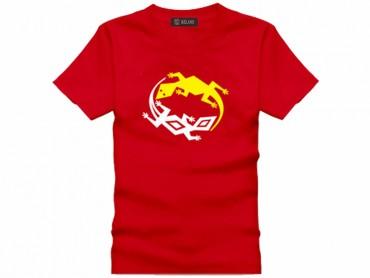 Tai Chi T-shirt Lizard Red