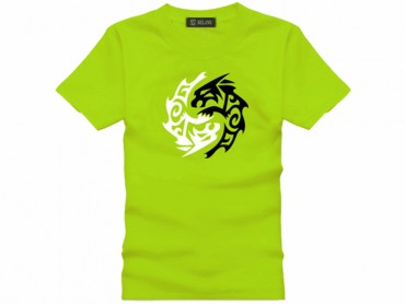 Tai Chi T-shirt Vintage Beast Green