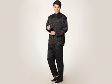 Traditional Kung Fu Clothing Tai Chi for Men Black