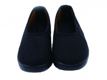 Traditional Shaolin Kung Fu Shoes Cotton Shoes Black