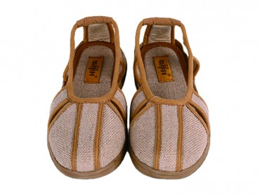 Traditional Shaolin Kung Fu Shoes Fabric Shoes Ochre
