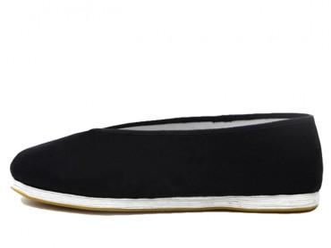 Vintage Hand Made Tai Chi Shoes Black