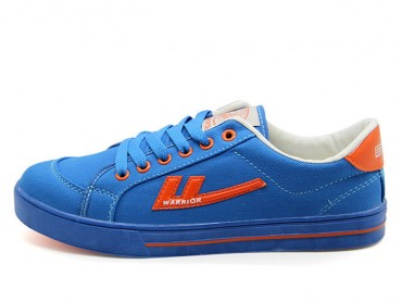 Warrior Footwear Blue Canvas Sneaker