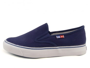 Warrior Footwear Classic Casual Shoes Navy