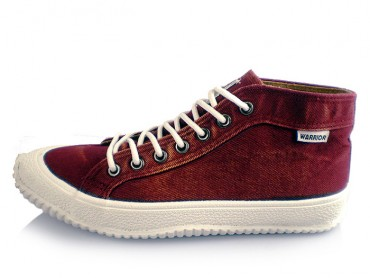 Warrior Footwear Cowboy Casual Sneaker Red
