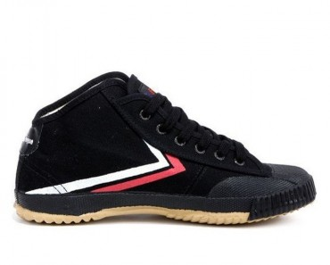 Feiyue High Top Kung Fu Shoes - Black Shoes