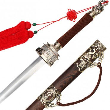 Chiese Sword Longquan Xuanwu Adornment Sword