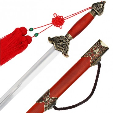 Chiese Sword Saffron Pears Adornment Sword
