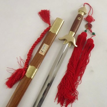 Tai Chi Sword Carved Flower Pattern Sword