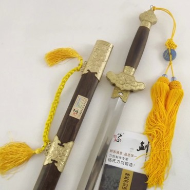 Tai Chi Sword Soft Sword Kuroki Scabbard