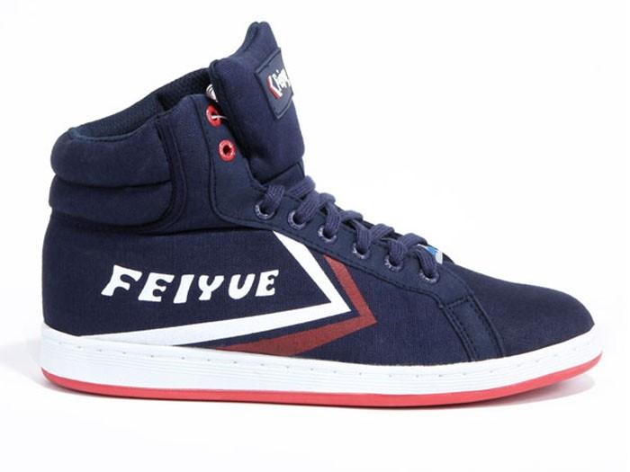 Feiyue Hi 10N28E Canvas Shoes Dark Blue Shoes