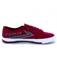 Feiyue Plain Sneakers, Canvas Sneakers, Claret Canvas Shoes, Feiyue Shoes