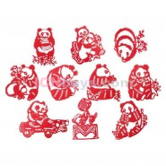 Chinese Paper Cutting, Chinese Paper Cutting Panda