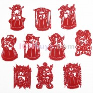 Chinese Paper Cutting, Chinese Paper Cutting Peking Opera