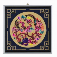 Chinese Paper Cutting, Decorative Paper-cut Frame, Decorative Paper-cut Frame Happy Magpie