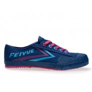 Feiyue Lo Canvas Sneakers - Violet Shoes