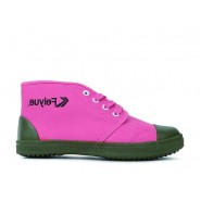 Feiyue Shoes Vintage Chinese Liberation High Top Pink