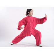 Tai Chi Clothing, Tai Chi Uniform, Tai Chi Clothing Woman, Tai Chi Uniform Woman, Tai Chi Clothing Maroon, Tai Chi Clothing summer,
