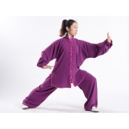 Tai Chi Clothing, Tai Chi Uniform, Tai Chi Clothing Woman, Tai Chi Uniform Woman, Tai Chi Clothing Purple, Tai Chi Clothing summer,