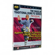 shaolin, shaolin kung fu, shaolin kung fu dvd, shaolin kung fu video, shaolin kung fu video dvd,  Shaolin Applied Tactics of Shaolin Linking Hands and Short Hitting Video