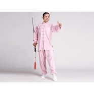 Tai Chi Clothing, Half-sleeve Tai Chi Clothing, Tai Chi Clothing Pink, Tai Chi Clothing for Woman, Tai Chi Uniform, Chinese Tai Chi Clothing, Chinese Tai Chi Uniform, Tai Chi Casual Clothing