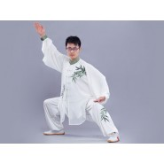Tai Chi Clothing Traditional Bamboo Pattern Man