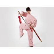 Tai Chi Clothing, Flax Tai Chi Clothing, Pink Tai Chi Clothing, Tai Chi Clothing for Woman, Tai Chi Uniform, Chinese Tai Chi Clothing, Chinese Tai Chi Uniform, Tai Chi Casual Clothing
