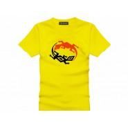 Tai Chi T-shirt, Tai Chi T-shirt Liard, Tai Chi T-shirt Yellow