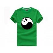 Tai Chi T-shirt, Tai Chi T-shirt Panda, Tai Chi T-shirt Panda Green