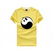 Tai Chi T-shirt, Tai Chi T-shirt Panda, Tai Chi T-shirt Panda Yellow