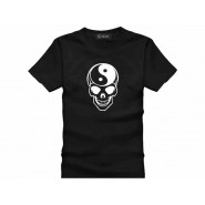Tai Chi T-shirt, Tai Chi T-shirt Skull, Tai Chi T-shirt Black