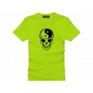 Tai Chi T-shirt, Tai Chi T-shirt Skull, Tai Chi T-shirt Green
