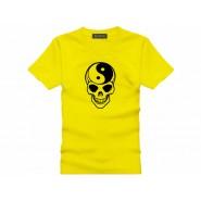 Tai Chi T-shirt, Tai Chi T-shirt Skull, Tai Chi T-shirt Yellow