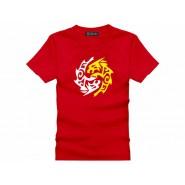 Tai Chi T-shirt, Tai Chi T-shirt Beast, Tai Chi T-shirt Red