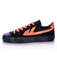 Warrior Footwear, Warrior Footwear Black Shoes, Warrior Footwear Black Orange Shoes, Warrior Footwear Black Orange Basketball Shoes