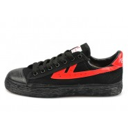 Warrior Footwear, Warrior Footwear Black Shoes, Warrior Footwear Black Red Shoes, Warrior Footwear Black Basketball Shoes