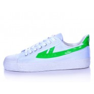 Warrior Footwear, Warrior Footwear White Shoes, Warrior Footwear White Green Shoes